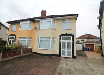 Thumbnail 3 bed semi-detached house to rent in Wensley Road, Orrel Park, Liverpool