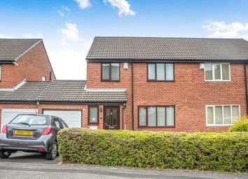 Thumbnail 3 bed semi-detached house for sale in Kipling Court, Swalwell, Newcastle Upon Tyne