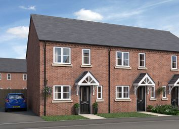 Thumbnail 2 bed town house for sale in Wentworth Road, Kirkby-In-Ashfield, Nottingham
