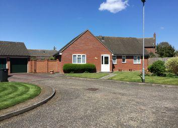 Thumbnail 3 bed detached bungalow for sale in Melton Gate, Wymondham