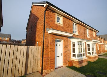 Thumbnail 3 bed semi-detached house for sale in Cot Castle View West, Stonehouse, Larkhall