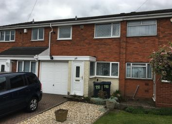 Thumbnail 3 bed terraced house to rent in Westacre Gardens, Stechford, Birmingham