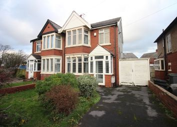 Thumbnail 3 bed semi-detached house for sale in Bispham Road, Blackpool