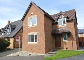 Thumbnail 4 bedroom detached house to rent in Rowell Way, Oundle, Peterborough