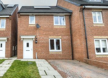 Thumbnail 3 bedroom semi-detached house for sale in Williston Close, Slatyford, Newcastle Upon Tyne