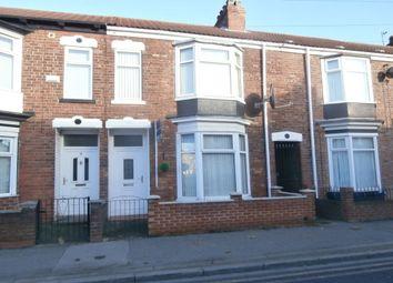 Thumbnail 3 bed terraced house for sale in Portobello Street, Hull