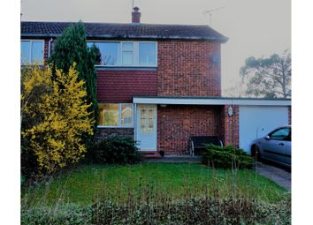 Thumbnail 3 bed semi-detached house for sale in Westwood Drive, Bourne