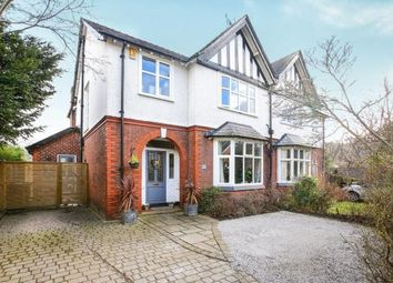 Thumbnail 4 bed semi-detached house for sale in Heyes Lane, Alderley Edge, Cheshire, Uk