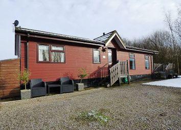 Thumbnail 3 bed lodge for sale in Silverdale, Borwick Lane, Carnforth