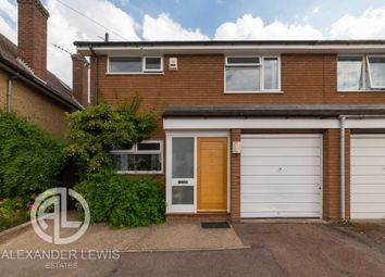 Thumbnail 3 bed semi-detached house for sale in South Road, Baldock