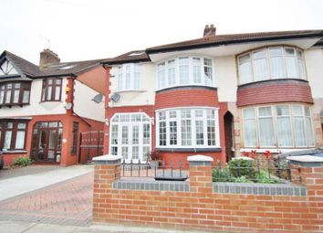 Thumbnail 5 bed semi-detached house for sale in Lord Avenue, Clayhall, Ilford