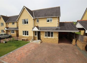 Thumbnail 4 bed detached house for sale in Mountain View Close, Libanus, Brecon