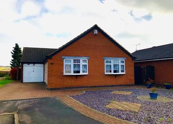 Thumbnail 3 bed bungalow for sale in Shenton Close, Thurmaston, Leicester, Leicestershire