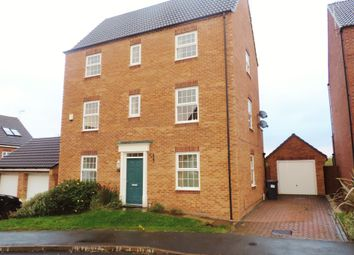 Thumbnail 5 bedroom detached house to rent in Snowgoose Way, Newcastle-Under-Lyme