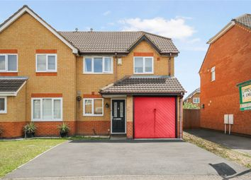 Thumbnail 3 bed semi-detached house for sale in Hillesden Avenue, Elstow, Bedford
