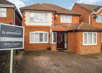 Thumbnail 4 bed detached house for sale in Grasholm Way, Langley, Slough