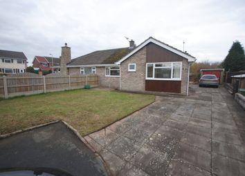 Thumbnail 2 bed semi-detached bungalow to rent in Birch Close, Longford Gardens, Market Drayton