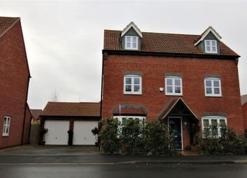 Thumbnail 5 bed detached house for sale in Leaders Way, Lutterworth