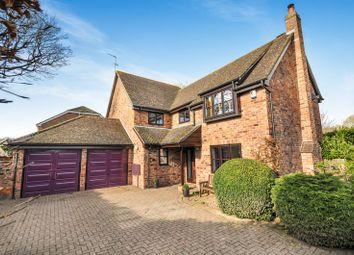 Thumbnail 5 bed detached house for sale in Hunt Close, Bicester
