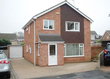 Thumbnail 4 bed detached house for sale in York Close, Studley