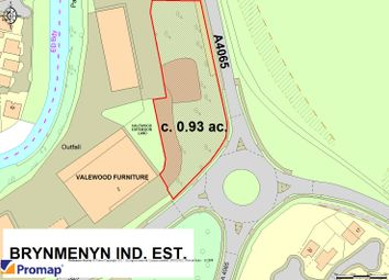 Thumbnail Land for sale in Brynmenyn Industrial Estate, Bridgend