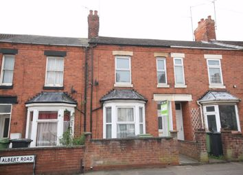 Thumbnail 3 bed terraced house to rent in Albert Road, Wellingborough, Northamptonshire