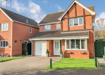 Thumbnail 4 bed detached house for sale in Woodside Way, St. Ives, Huntingdon