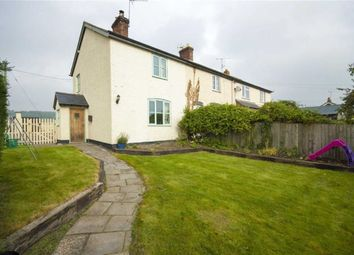 Thumbnail 2 bed end terrace house for sale in Holly Cottage, Marton, Welshpool, Powys