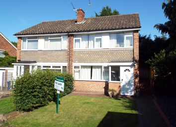 Thumbnail 3 bedroom semi-detached house for sale in Attlee Gardens, Church Crookham, Fleet