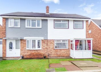 Thumbnail 3 bed semi-detached house for sale in Trimdon Avenue, Middlesbrough, North Yorkshire
