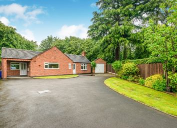 Thumbnail 3 bed detached bungalow for sale in Holly Road, Uttoxeter