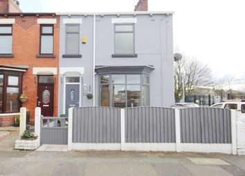 Thumbnail 3 bed end terrace house for sale in Sankey Street, Golborne, Warrington