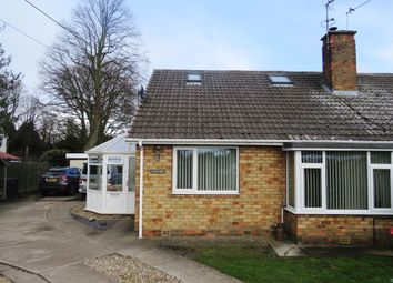 Thumbnail 3 bedroom semi-detached bungalow for sale in Wetherby Road, Rufforth, York