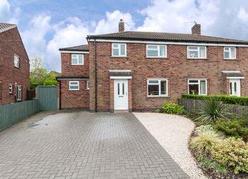 Thumbnail 3 bedroom semi-detached house for sale in Shields Crescent, Castle Donington, Derby