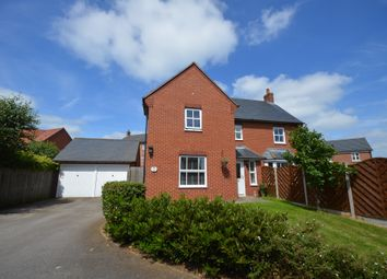 Thumbnail 4 bed detached house for sale in Teasel Drive, Desborough, Kettering