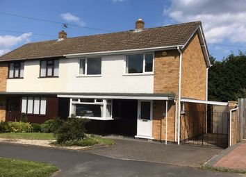 Thumbnail 3 bed semi-detached house for sale in Loxley Road, Glenfield, Leicester