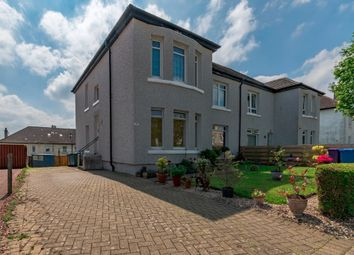 Thumbnail 3 bed flat for sale in Kestrel Road, Knightswood, Glasgow