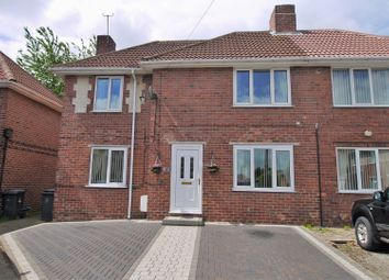 Thumbnail 3 bed semi-detached house for sale in Western Close, Dinnington, Sheffield