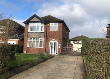 Thumbnail 3 bed detached house for sale in Mill Lane, Hazel Grove, Stockport