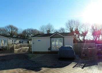 Thumbnail 1 bed mobile/park home for sale in Shirmart Park, Halsinger, Braunton, Devon