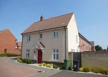 Thumbnail 3 bed semi-detached house to rent in Chalk Close, Thetford