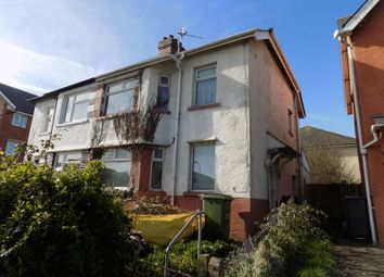 Thumbnail 3 bedroom semi-detached house for sale in South Clive Street, Cardiff