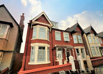 Thumbnail 6 bed semi-detached house for sale in Vaughan Road, New Brighton, Wallasey