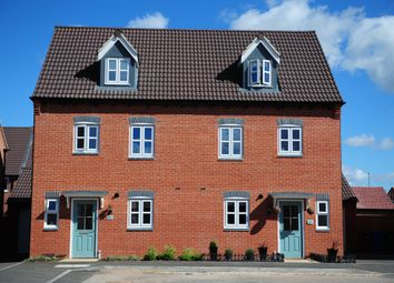 Thumbnail 4 bed semi-detached house for sale in Fellow Lands Way, Chellaston