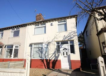 Thumbnail 3 bed semi-detached house for sale in Eldred Road, Childwall, Liverpool