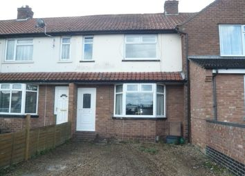 Thumbnail 3 bed terraced house for sale in Cromwell Road, Sprowston, Norwich
