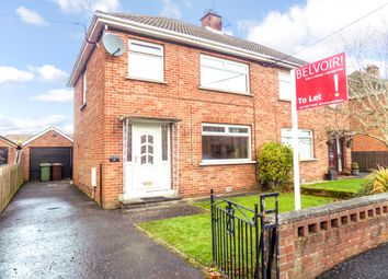 Thumbnail 3 bedroom semi-detached house to rent in Lisnagarvey Drive, Lisburn
