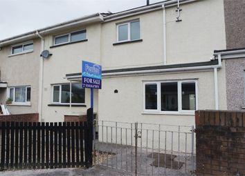 Thumbnail 3 bed terraced house for sale in Tir Newydd, North Cornelly, Bridgend, Mid Glamorgan