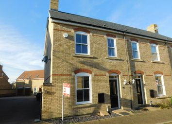 Thumbnail 3 bed end terrace house to rent in Charlotte Avenue, Fairfield, Hitchin