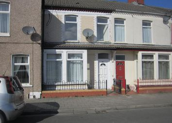 Thumbnail 3 bed terraced house to rent in Court Road, Grangetown, Cardiff
